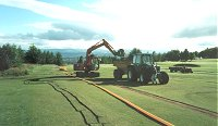 Golf Course Drainage from Erskine Drainage, Glasgow, Scotland